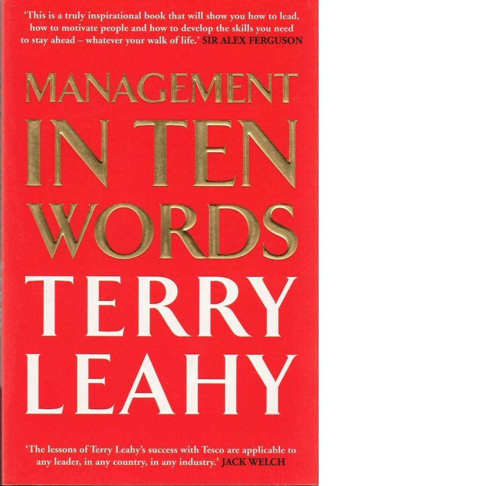 Bookdealers:Management in Ten Words | Terry Leahy