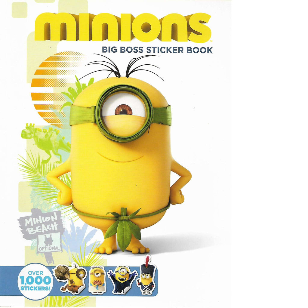 Bookdealers:Minions: Big Boss Sticker Book