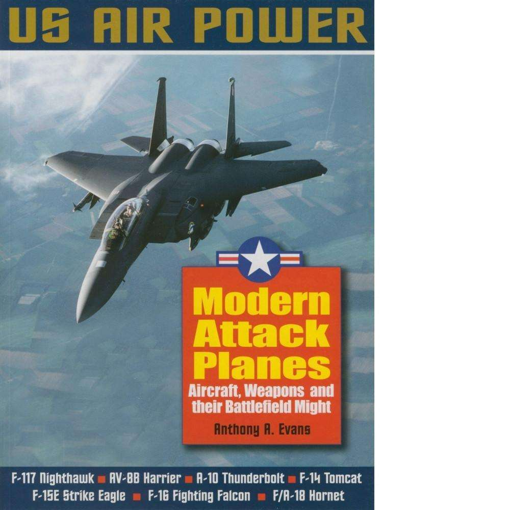Bookdealers:Modern Attack Planes | Anthony A. Evans
