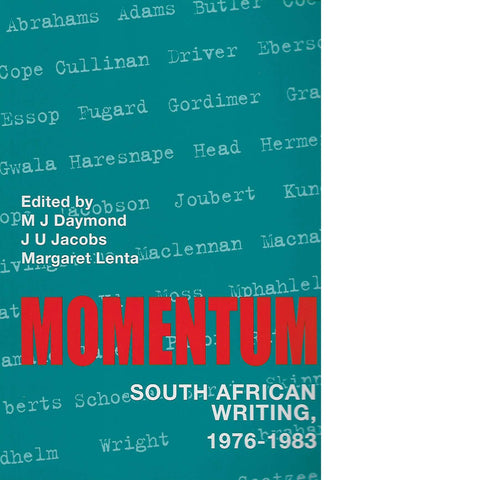 Momentum | M.J. Daymond, J.U. Jacobs and Margaret Lenta