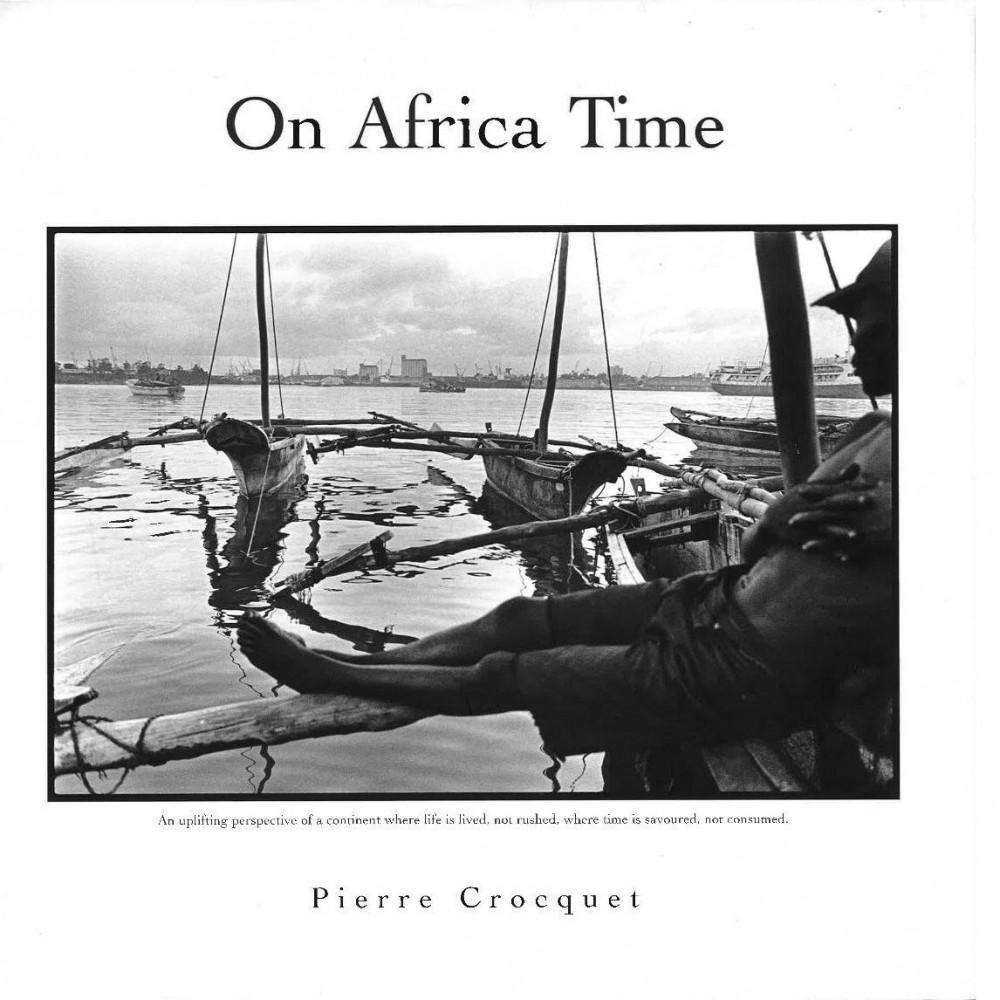 Bookdealers:On Africa Time (Sgned) | Pierre Crocquet