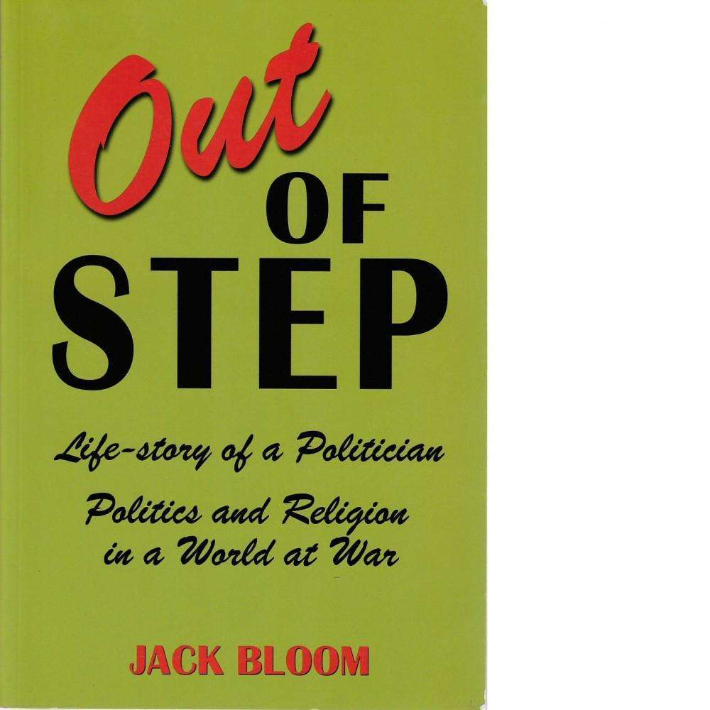 Bookdealers:Out of Step: Life-story of a Politician | Jack Bloom