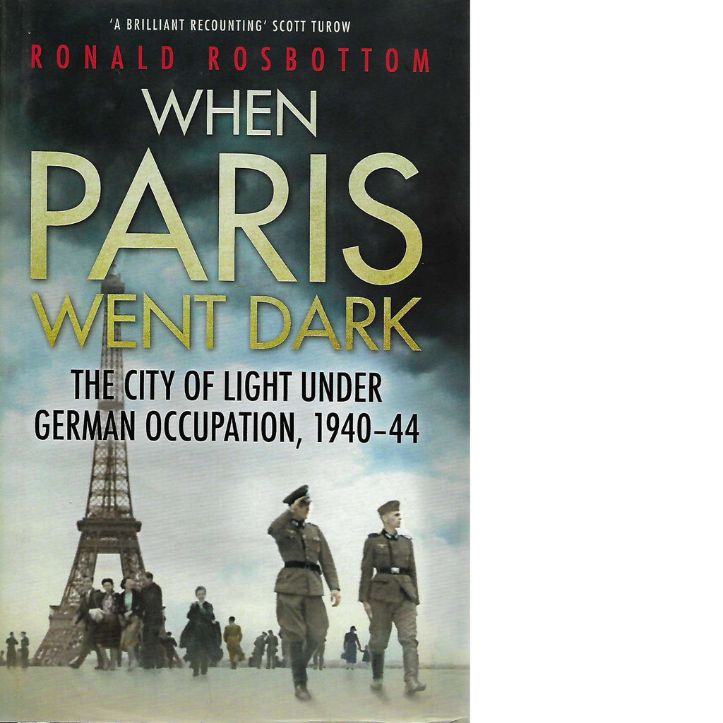 Bookdealers:When Paris Went Dark | Ronald Rosbottom