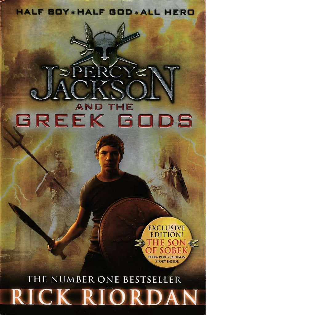 Bookdealers:Percy Jackson And The Greek Gods | Rick Riordan