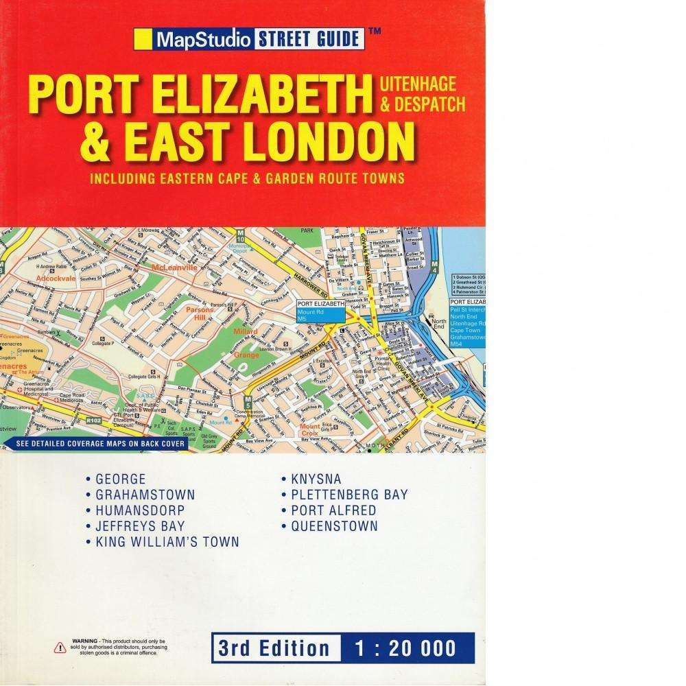 Bookdealers:Port Elizabeth & East London Street Guide | Map Studio