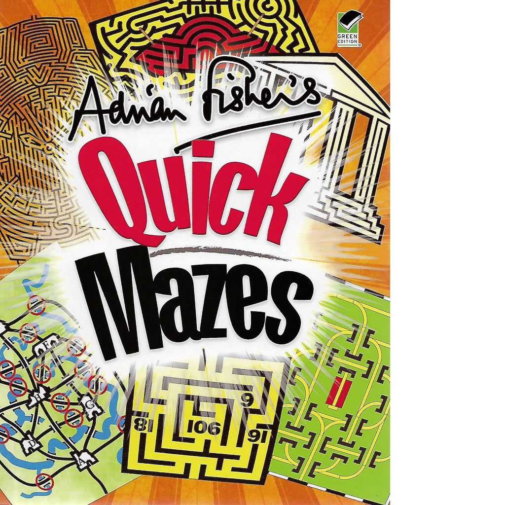 Bookdealers:Adrian Fisher's Quick Mazes | Adrian Fisher