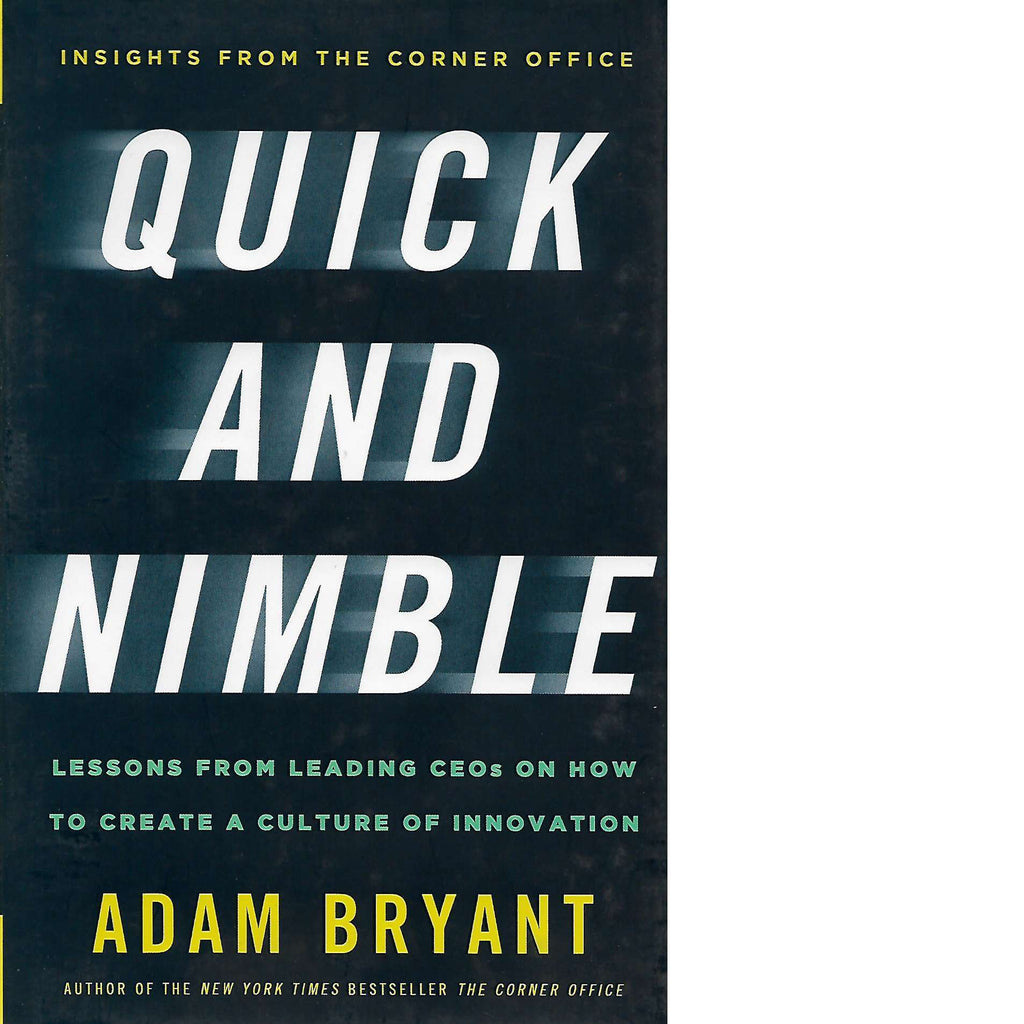 Bookdealers:Quick and Nimble | Adam Bryant