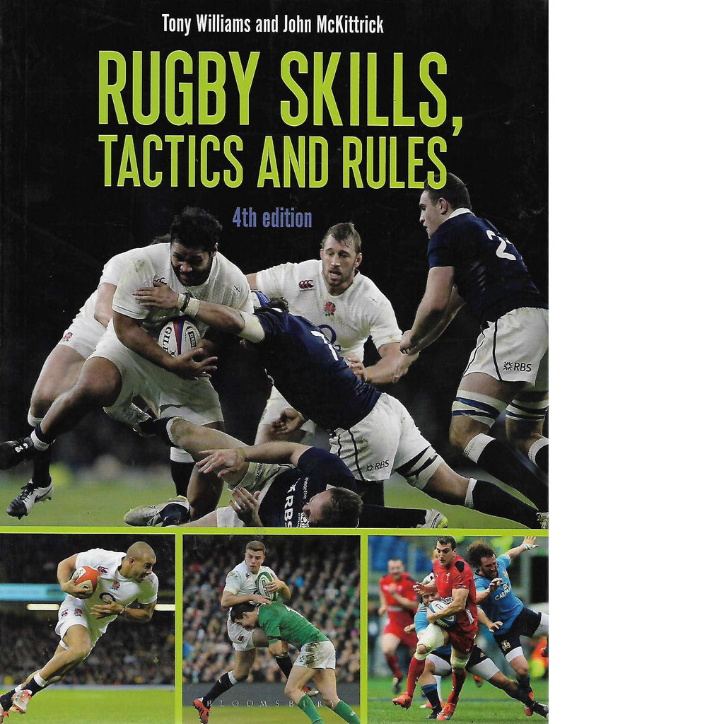 Bookdealers:Rugby Skills, Tactics and Rules | Tony Williams