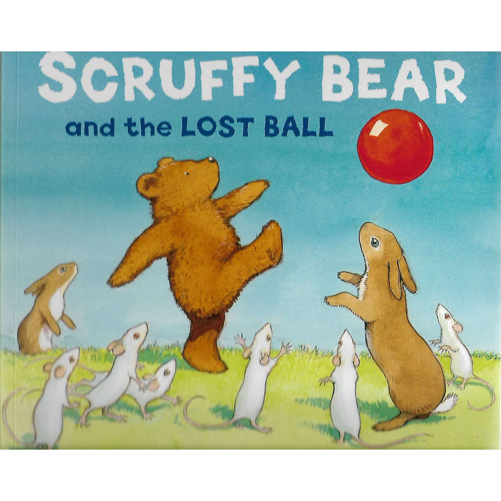 Scruffy Bear and the Lost Ball | Chris Wormell