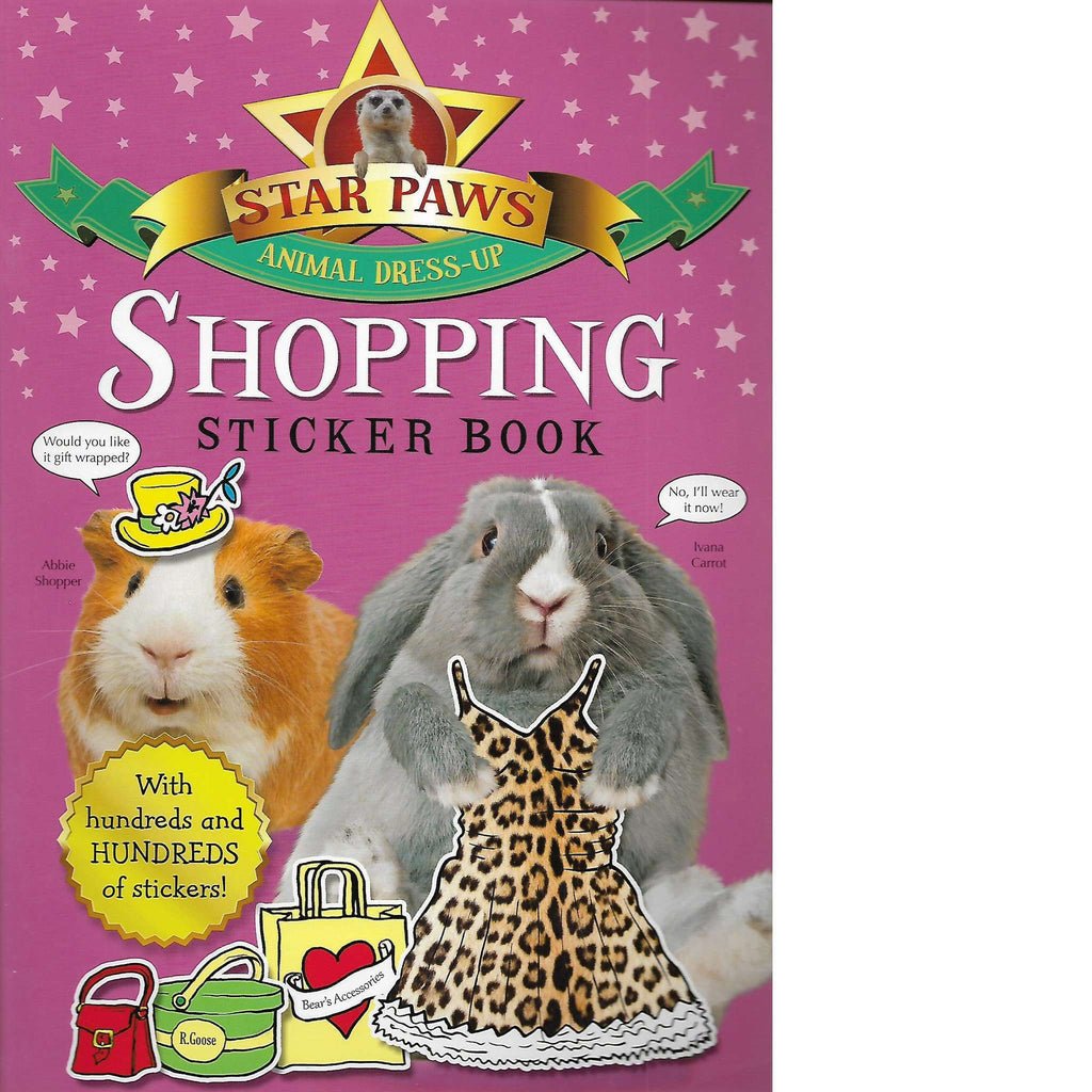 Bookdealers:Star Paws: Shopping Sticker Book  | Macmillan Children's Books