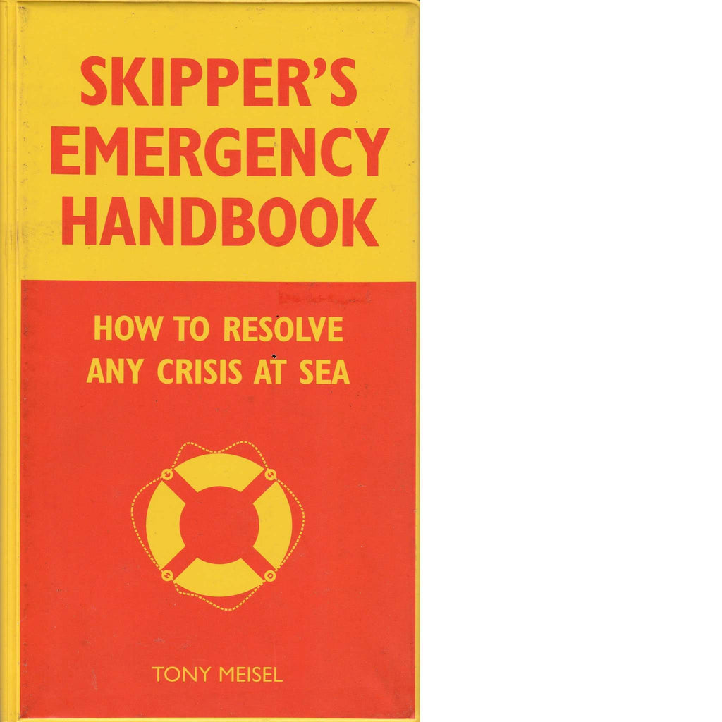 Bookdealers:Skipper's Emergency Handbook | Tony Meisel