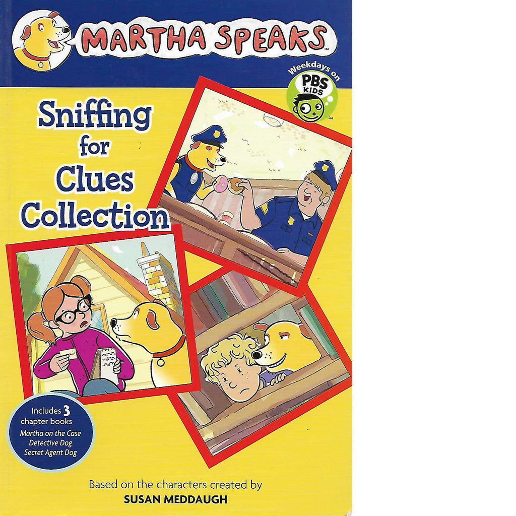 Bookdealers:Martha Speaks: Sniffing for Clues Collection | Susan Meddaugh
