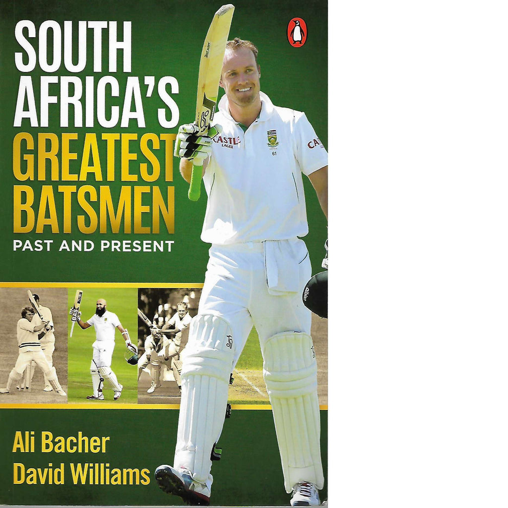 Bookdealers:South Africa's Greatest Batsmen | David Williams and Ali Bacher