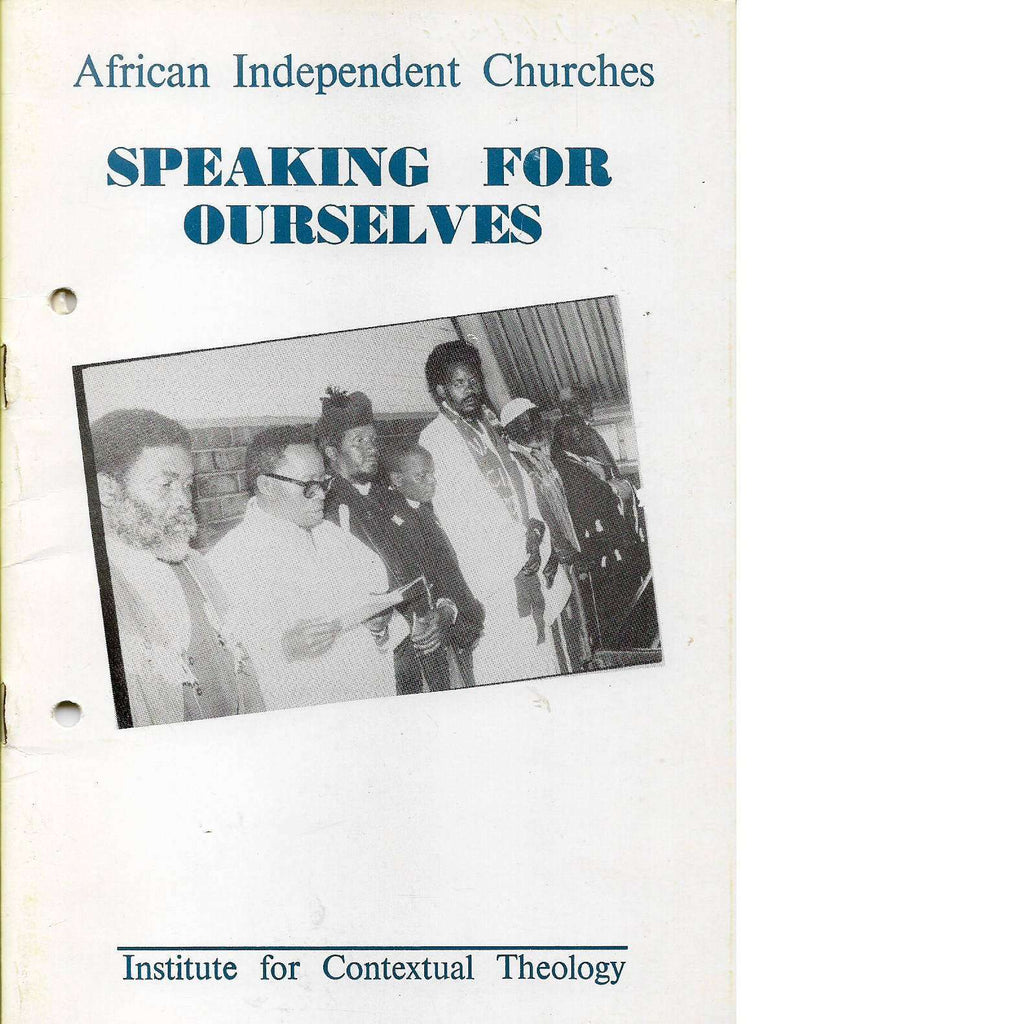 Bookdealers:Speaking For Ourselves | African Independant Churches
