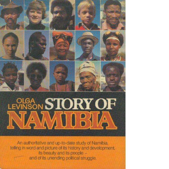 Bookdealers:Story of Namibia (Inscribed) | Olga Levinson
