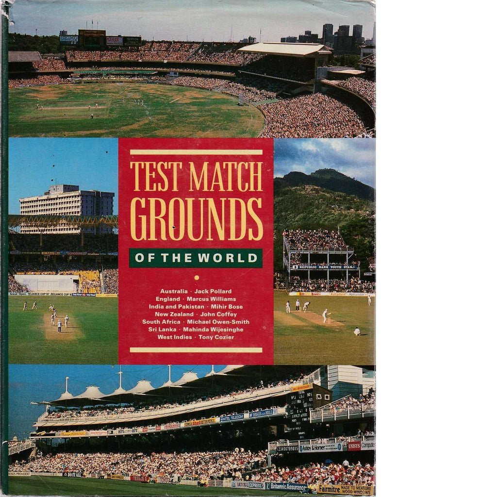 Bookdealers:Test Match Grounds of the World | Mihir Bose, John Coffey, Tony Cozier, Michael Owen-Smith, Jack Pollard, Mahinda Wijesinghe and Marcus Williams