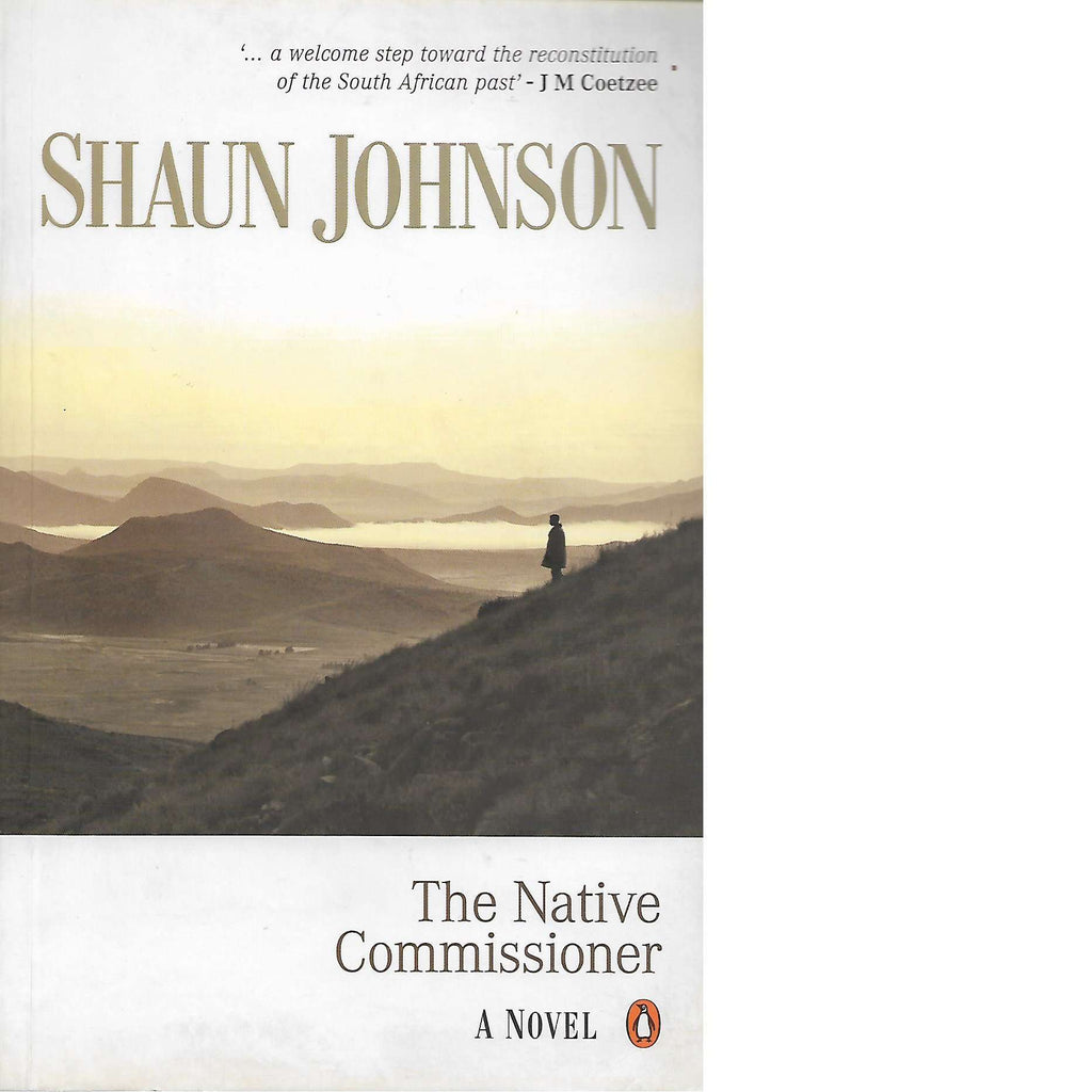 Bookdealers:The Native Commissioner | Shaun Johnson
