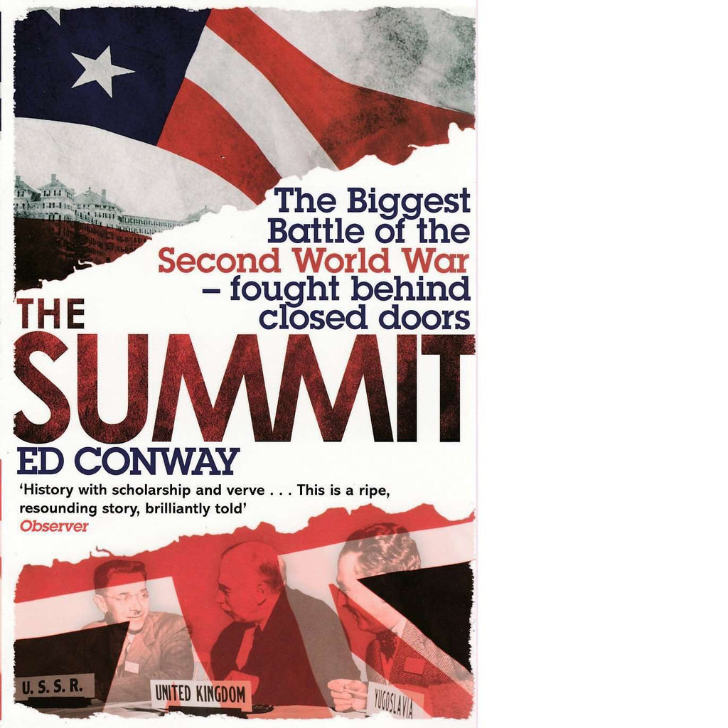 Bookdealers:The Summit | Ed Conway