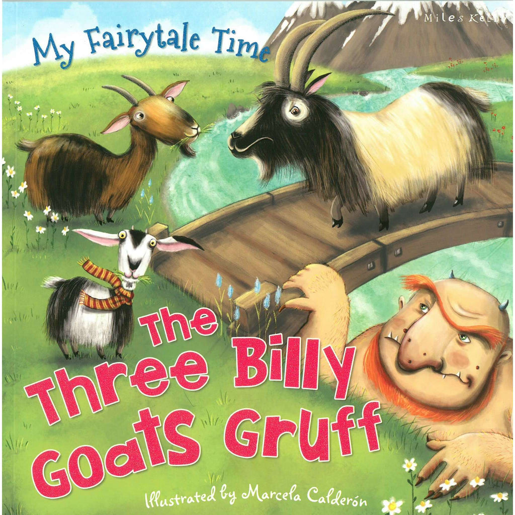 Bookdealers:The Three Billy Goats Gruff | Marcela Calderon