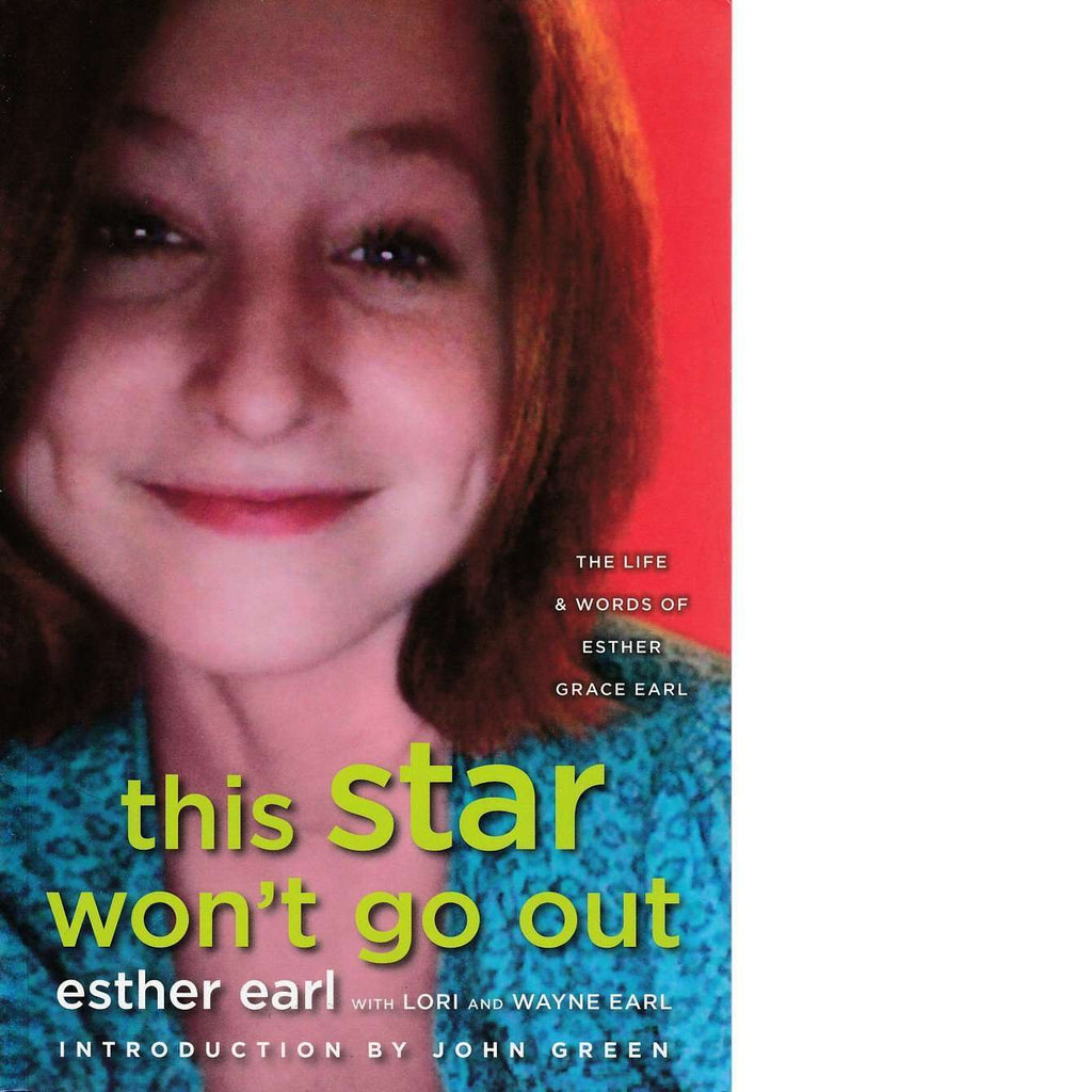 Bookdealers:This Star Won't Go Out | Esther Grace Earl