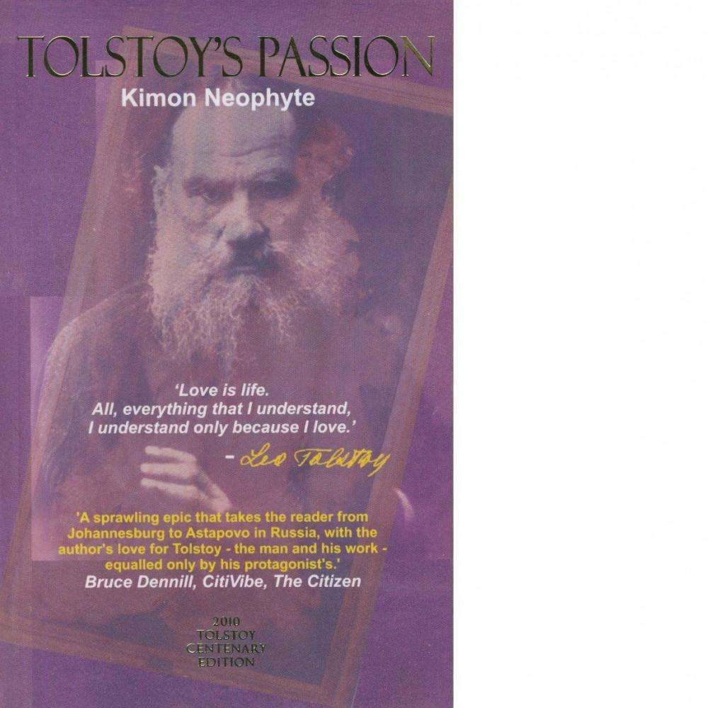 Bookdealers:Tolstoy's Passion