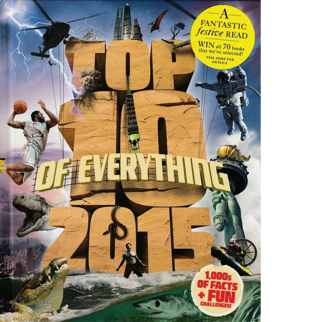 Bookdealers:Top 10 of Everything 2015 | Paul Terry