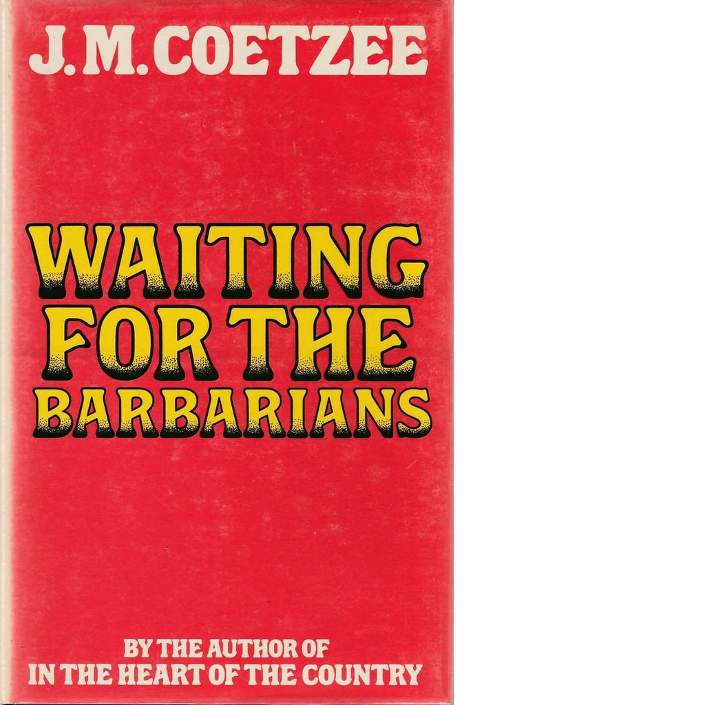 Bookdealers:Waiting for the Barbarians | J. M. Coetzee