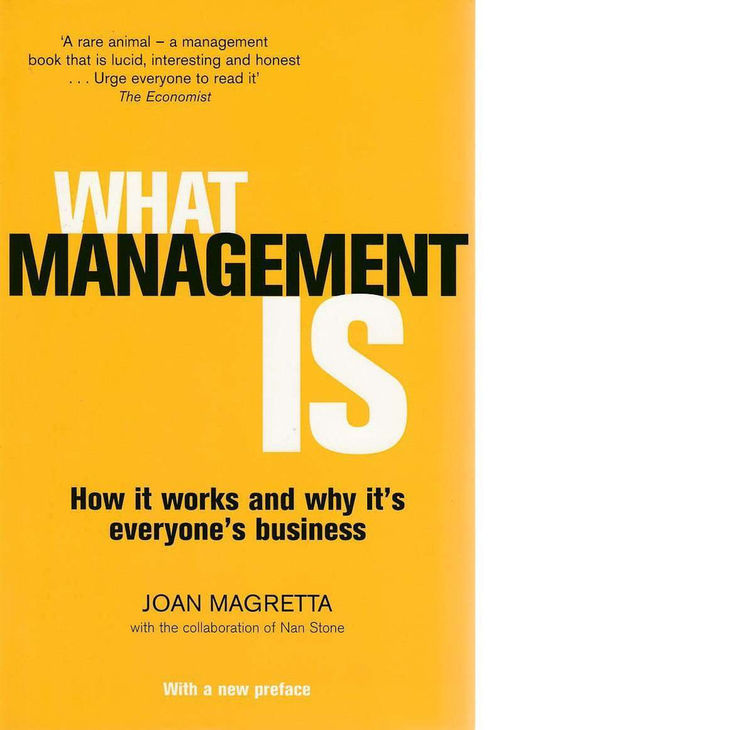 Bookdealers:What Management Is | Joan Magretta