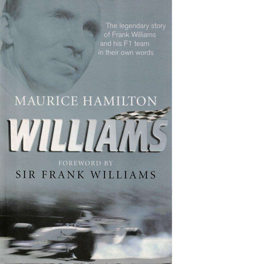 Bookdealers:Williams | Maurice Hamilton