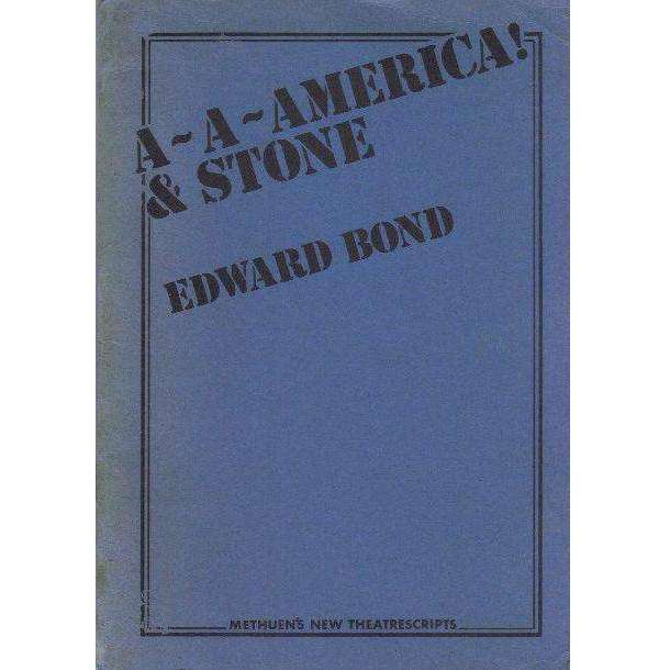 Bookdealers:A-A-America! | Edward Bond
