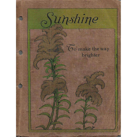 A Book of Sunshine: To Make the Way Brighter