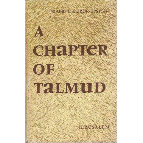 A Chapter of Talmud, Bava Mezia, IX - Perek Hamekabel | Rabbi B. Elizur-Epstein