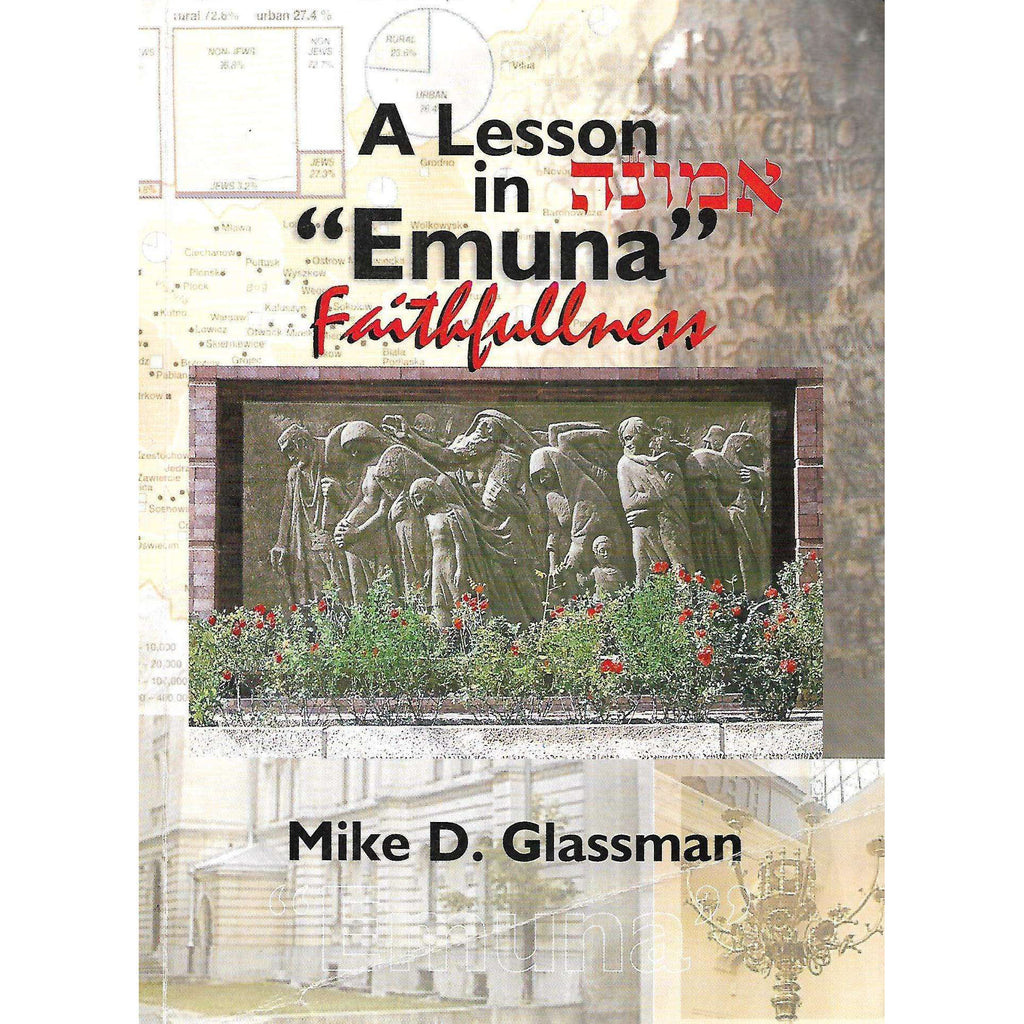 "Bookdealers:A Lesson in ""Emuna"" Faithfulness: A Spiritual Journey Through Eastern Europe to Discover my Roots.. and so Much More! 