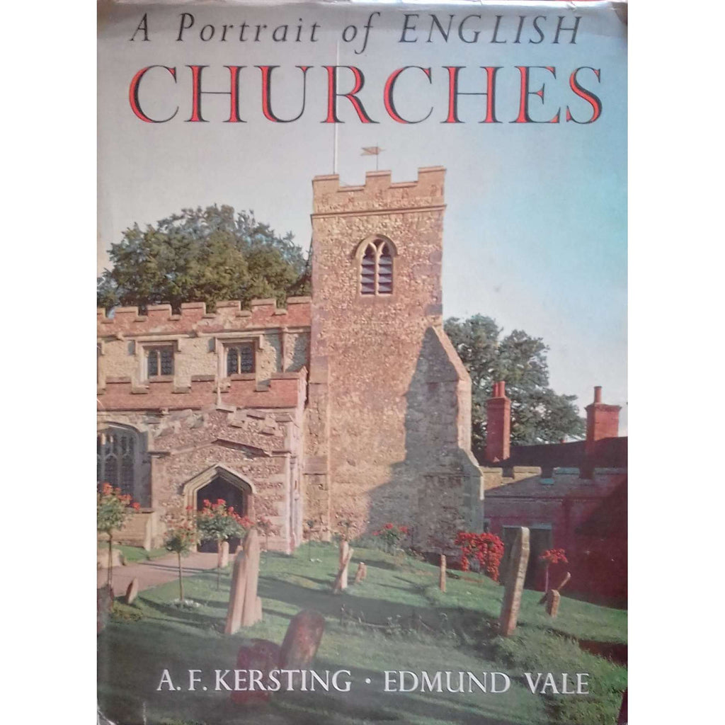Bookdealers:A Portrait of English Churches | A. F. Kersting & Edmund Vale