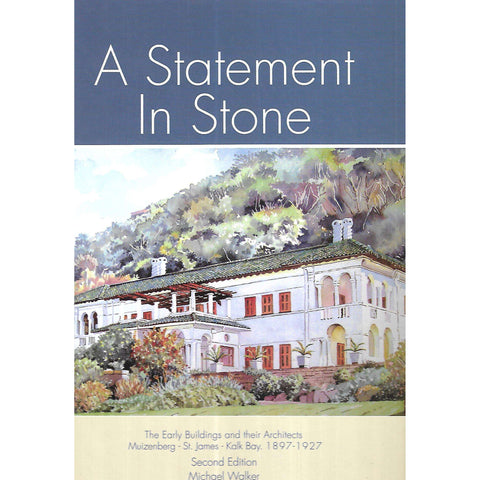 A Statement in Stone (Signd by the Author) | Michael Walker