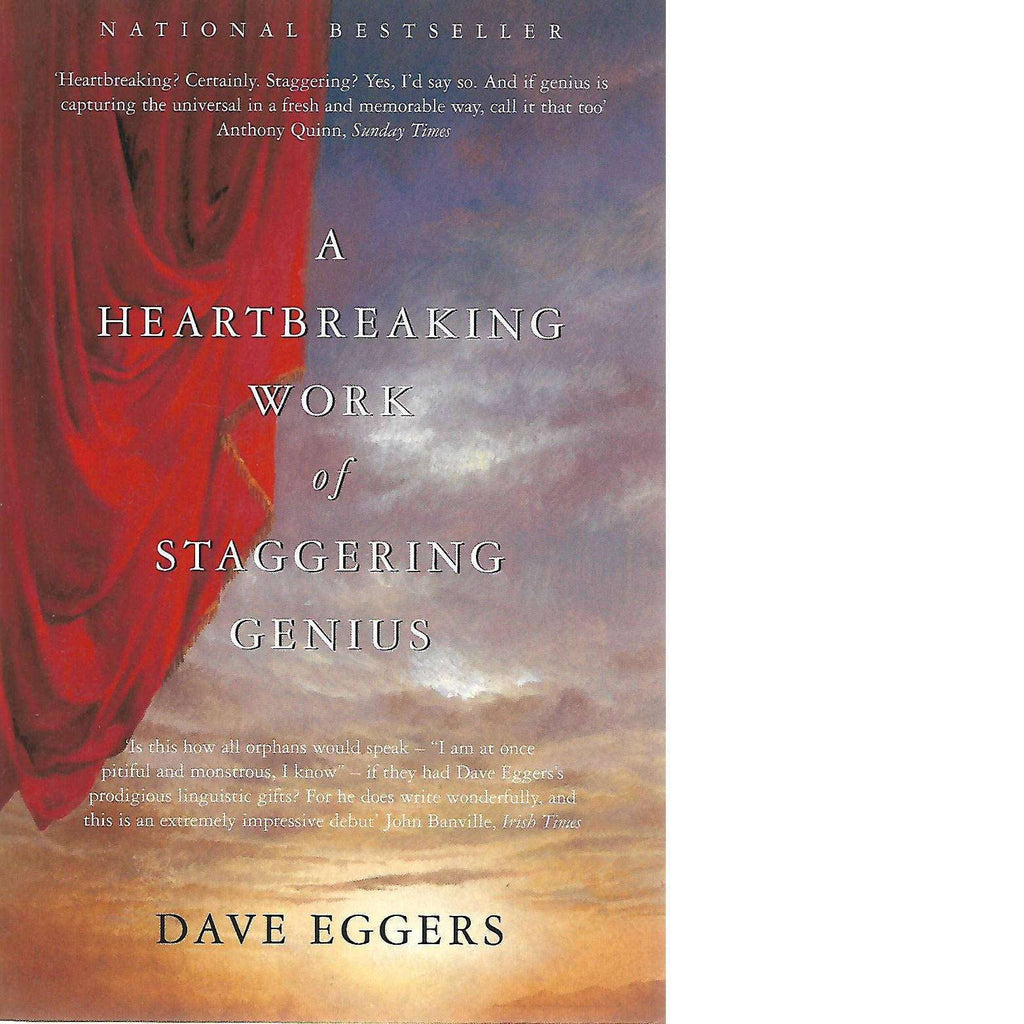 Bookdealers:A Heartbreaking Work of Staggering Genius | Dave Eggers