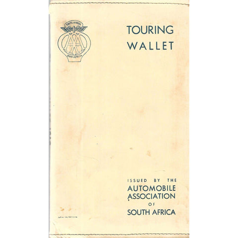 AA Handbook for 1960 With 7 Additional Items (In Touring Wallet)