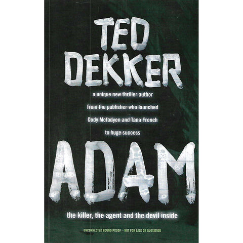 Adam (Uncorrected Proof Copy) | Ted Dekker