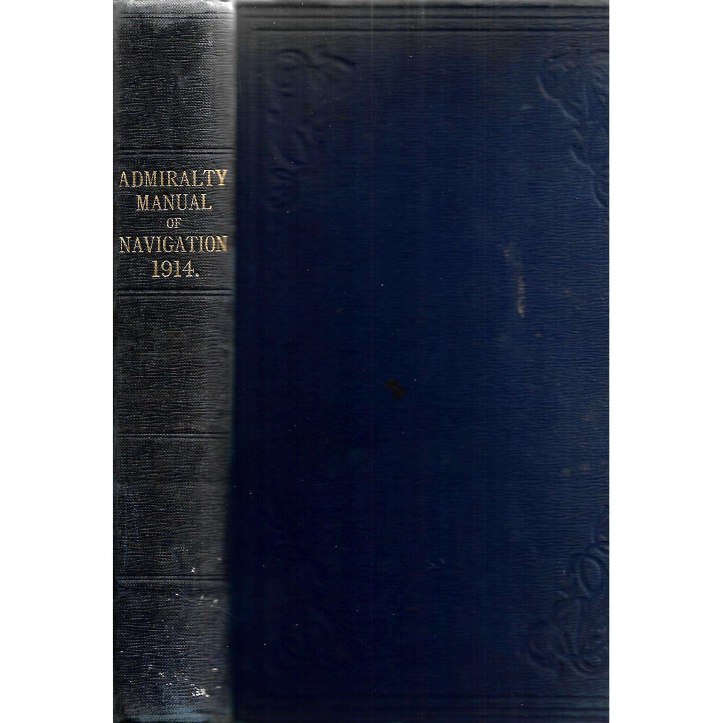 Bookdealers:Admiralty Manual of Navigation