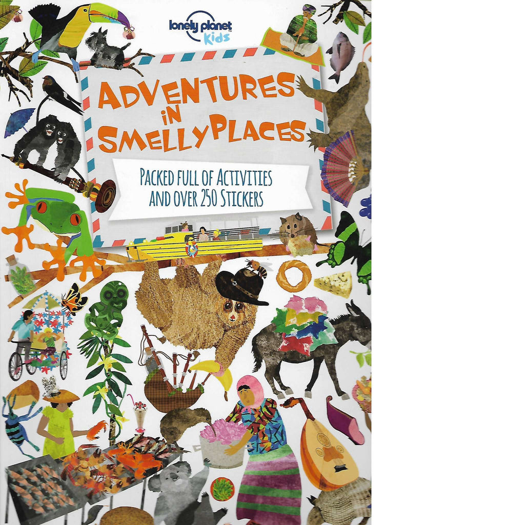 Bookdealers:Adventures in Smelly Places | Lonely Planet Kids