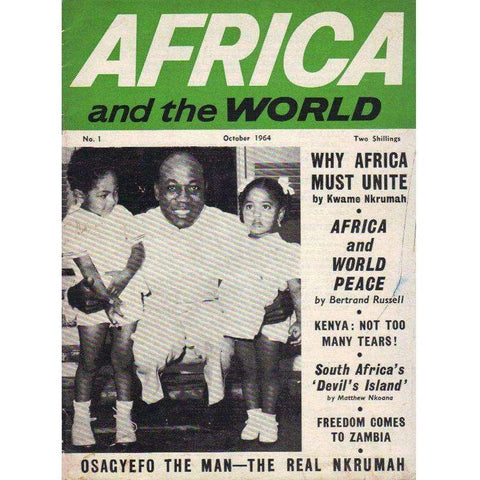 Africa and the World: No 1 | Editor: Douglas G. Rogers