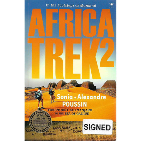 Africa Trek 2: In the Footsteps of Mankind (Signed by Authors) | Sonia and Alexandre Poussin