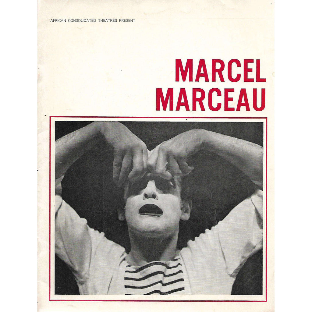 Bookdealers:African Consolidated Theatres Present Marcel Marceau (Program Booklet)