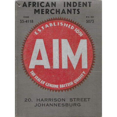 African Indent Merchants (Catalogue)
