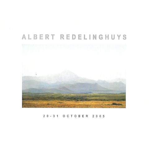 Albert Redelinghuys (Invitation to an Exhibition of his Work)