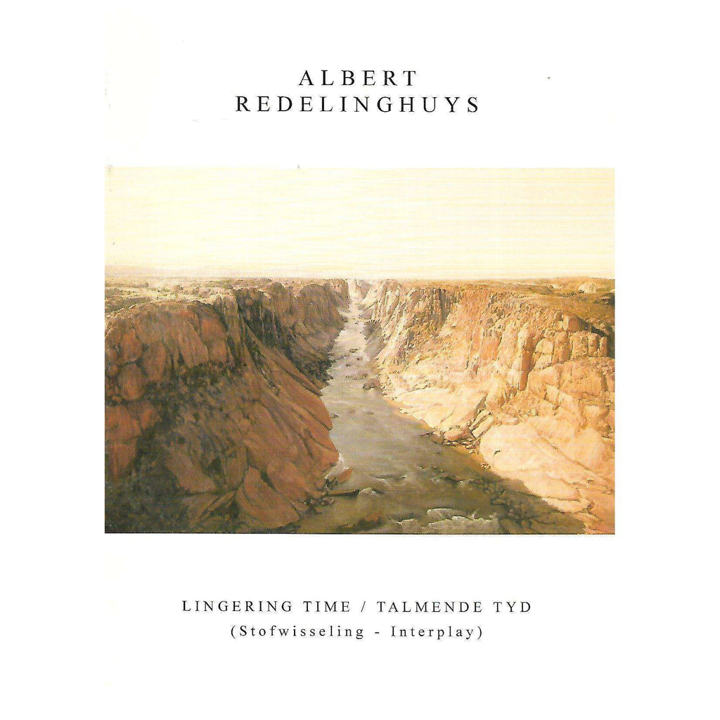 Bookdealers:Albert Redelinghuys: Lingering Time/Talmende Tyd (Invitation to the Exhibition)