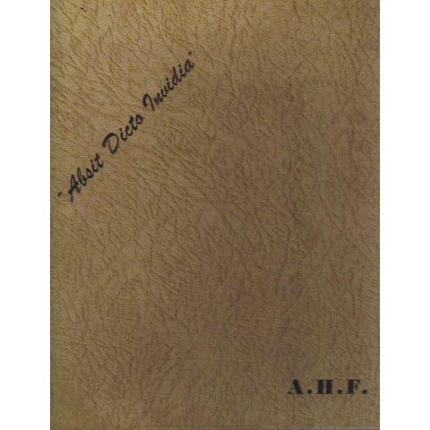 Alfred Heinrich Freer An Attempt at Autobiography |  Alfred Heinrich Freer