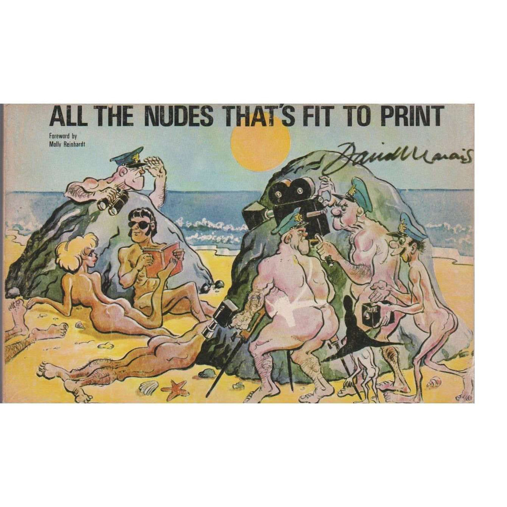 Bookdealers:All the Nudes That's Fit to Print: A New Collection of Cartoons | David Marais