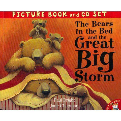 The Bears in the Bed and the Great Big Storm (Picture Book and Cd Set) | Paul Bright and Jane Chapman