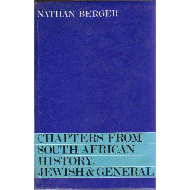Bookdealers:Chapters From South African History, Jewish & General (Signed Compliment Slip by the Author) | Nathan Berger